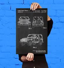 jeep art jeep art poster jeep patent jeep print jeep art jeep
