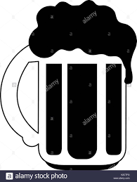 beer cartoon black and white malt black and white stock photos u0026 images alamy
