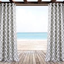 edward trellis outdoor window curtain set lush decor www
