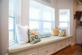 Erykah Badu Uncut Window Seat - bay window seat designs home decorating interior design bath