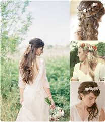 Temporary Hair Extensions For Wedding 6 Ideas For Beautiful And Romantic Wedding Hairstyles With Flowers