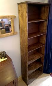 handmade available on etsy uk rustic bookshelves in eco