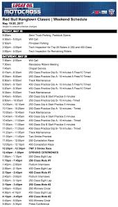 ama pro motocross schedule hangtown mx 2017