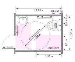 norme handicapé chambre norme salle de bain handicape hotel du futuroscope salle de bain
