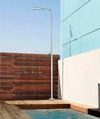 Outdoor Pool Showers - solar outdoor shower stainless steel angel astralpool