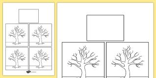 blank calendar template ks1 blank trees themed calendar template season calendar