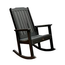 White Patio Rocking Chair by Highwood Lehigh Outdoor Rocking Chair Highwood Usa