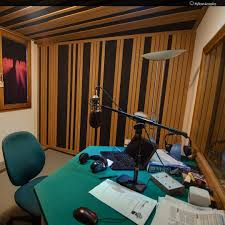 this is a vocal booth for radio station myroom design
