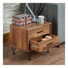walnut nightstands and bedside tables houzz