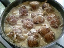 cuisiner paupiette de dinde paupiettes de porc aux chignons recette