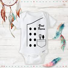 Halloween Gifts For Babies Personalized Halloween Sushi Chef Costume Onesies Funny Unisex