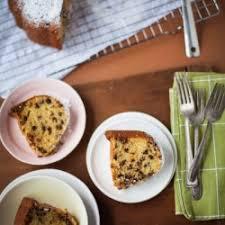 vanilla chocolate chip bundt cake the little kitchen