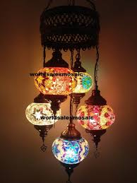 Mosaic Chandelier Turkish Artfire Markets