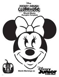 printable minnie mouse pumpkin stencils from printabletreats com