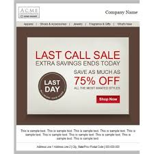 professional invitation only sale email templates business email