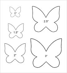 best photos of small butterfly template printable free printable
