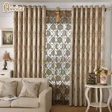 Customized Curtains And Drapes Aliexpress Com Buy Modern Jacquard Curtains For Living Room