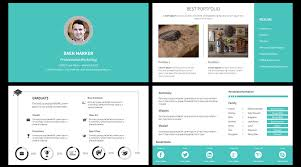 portfolio powerpoint template 20 animated powerpoint template ppt
