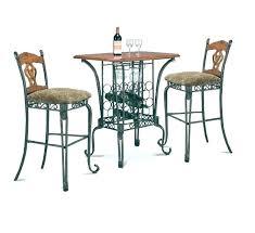 granite top round pub table granite pub table sets espresso 5 piece pub dining furniture set