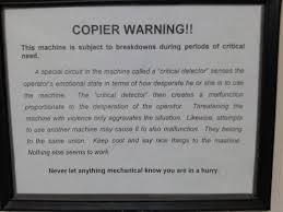 Copy Machine Meme - photocopier funny warning label funny pictures funny jokes and