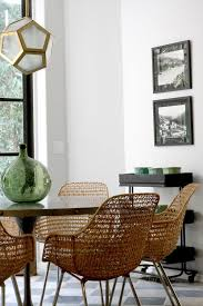 Woven Chairs Dining 10 Lessons We Learned From Nate Berkus Wicker Dining Chairs