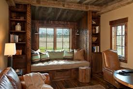 daybed with drawers home office rustic with barn brown leather