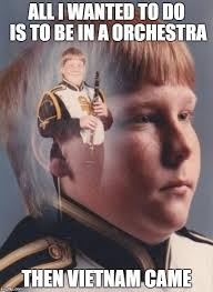 Clarinet Boy Meme Generator - ptsd clarinet boy meme generator imgflip