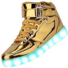 Gold Light Up Shoes Amazon Com