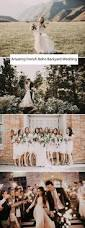 french bohemian backyard wedding gabby patrick french