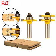 Beadboard Router Bit - 5pcs wood casing u0026 base rail u0026 stile molding router bit set 1 2