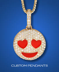 custom necklace pendants custom diamond jewelry by shyne jewelers