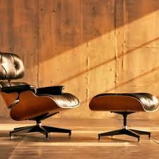 furniture wonderful cowhide eames lounge chair replica and