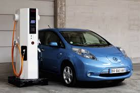 nissan leaf dc fast charge electric vehicle charging station quick charger ac dc dbt