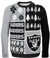 raiders christmas sweater with lights nfl ugly christmas sweaters officially licensed on sale w free