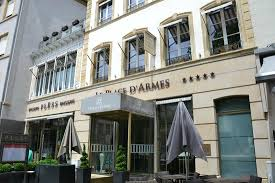 chambres d hotes luxembourg devanture de l hôtel photo de le place d armes hotel