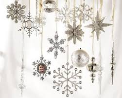 silver christmas white silver christmas decorating theme decorating
