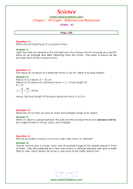 what is light in science ncert solutions for class 10 science chapter 10 light in pdf