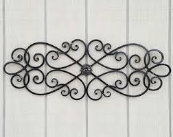 rod iron wall art home decor wrought iron decor etsy