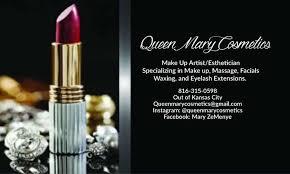 Makeup Artist In Kansas City Queen Mary Cosmetics Llc Home Facebook