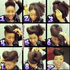 updos for curly hair i can do myself 21 five minute hairstyles for natural hair that lazy girls will love