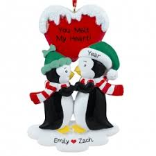 penguin ornaments gifts personalized ornaments for you