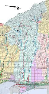 Oakland Map Codornices Creek Watershed Map