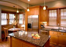 kitchen blinds ideas designs ideas kitchen with small wood island and wood