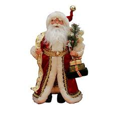 16 inch standing or name list santa claus