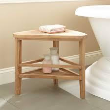 Bath Shower Stool 25 Teak Corner Bath Stool Teak Bathroom Furniture Corner Bath