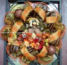 Thanksgiving Deco Mesh Wreaths 180 Best Thanksgiving Images On Pinterest Fall Deco Mesh