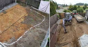Backyard Swimming Ponds - this guy u0027s ambitious project for his backyard actually ends up
