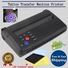tattoo stencil printer thermal copier machine spirit pocketjet w