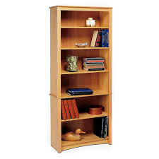 bookcase shelf supports with nice natural graded rack wooden