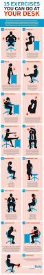 Exercise At The Office Desk 13 Best Take 5 Work Or Study Workouts Images On